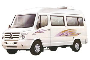 TEMPO TRAVELLER Fare in Allahabad